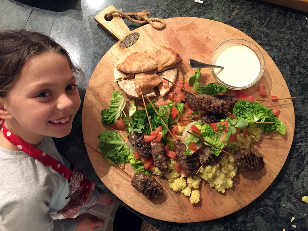 Hazel's Beef Kofta Tonight
