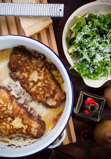 Parmesan Crusted Turkey Escalopes