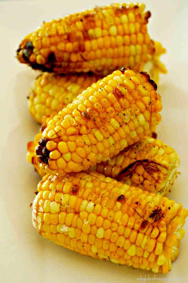 Roasted Corn and a Spiced Bird Salad